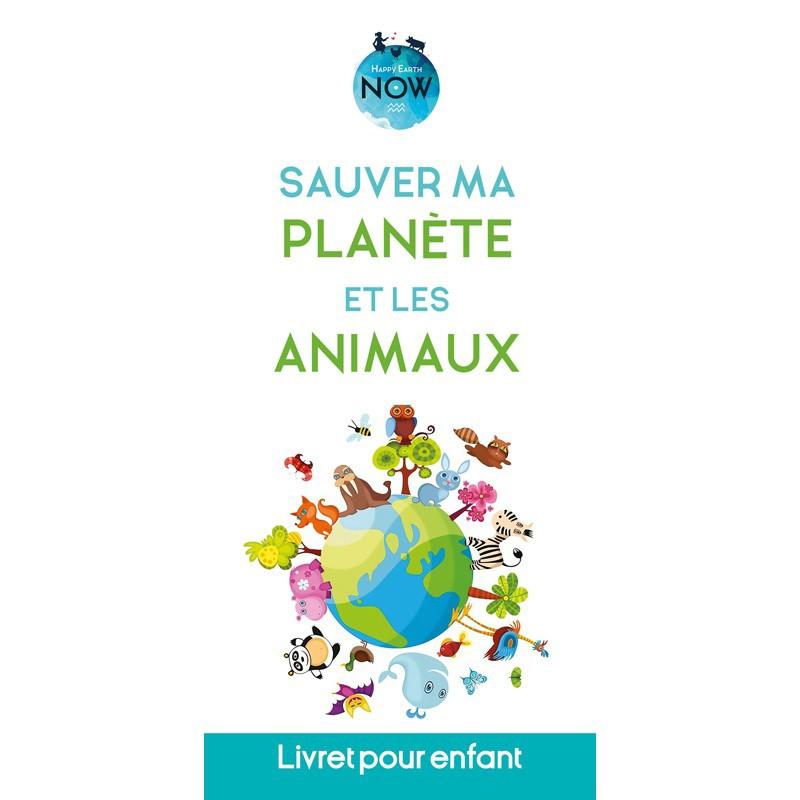 """Dépliant pour enfant """"Sauver ma planète et les animaux"""""""