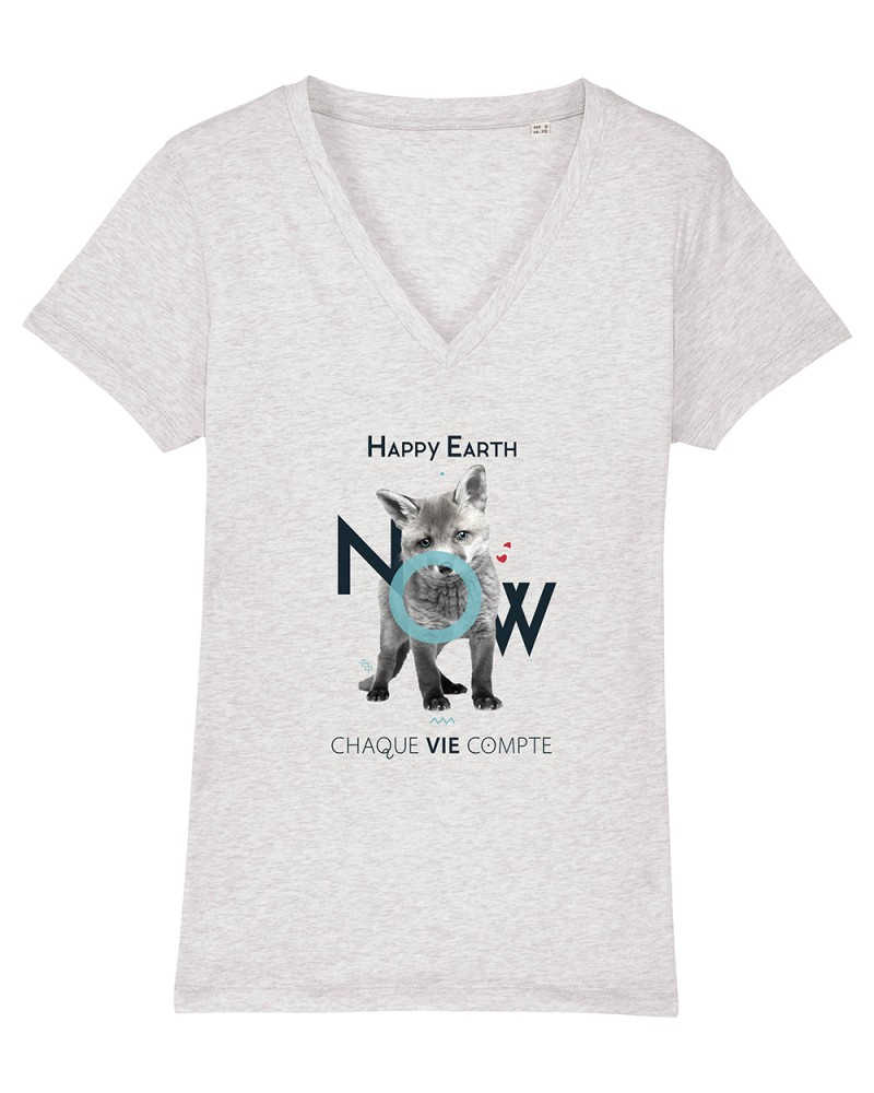 T-shirt Femme Gris chiné...